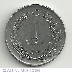 Imaginea #2 a 1 Lira 1971