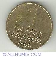 Image #2 of 1 Peso 1998