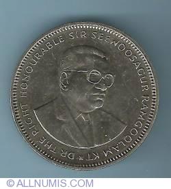 Image #2 of 1 Rupee 1991