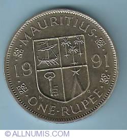 Image #1 of 1 Rupee 1991