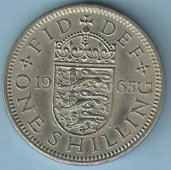 1 Shilling 1965