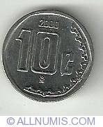 Image #2 of 10 Centavos 2000