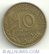 Image #2 of 10 Centimes 1962