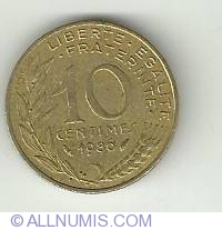 Image #2 of 10 Centimes 1986