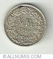 Image #2 of 1/2 Franc 1944