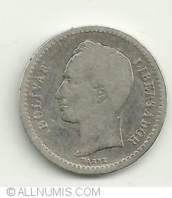 Imaginea #1 a 1/2 Bolivar 1945