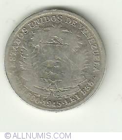 Imaginea #2 a 1/2 Bolivar 1945
