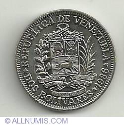 Imaginea #2 a 2 Bolivares 1986
