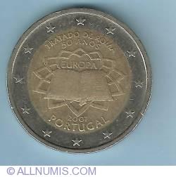 Imaginea #1 a 2 Euro 2007 Tratado de Roma