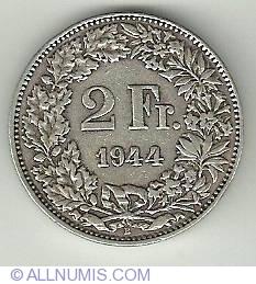 Image #2 of 2 Francs 1944