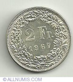 Image #2 of 2 Francs 1967