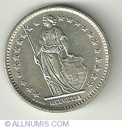 Imaginea #1 a 2 Franci 1967