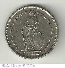 Image #1 of 2 Francs 1980