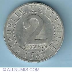 2 Groschen 1957