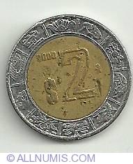 Image #2 of 2 Pesos 2000