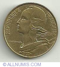 Image #1 of 20 Centimes 1991