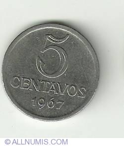 Imaginea #2 a 5 Centavos 1967