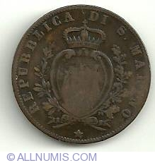 Imaginea #1 a 5 Centesimi 1894 R