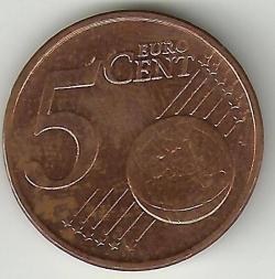 5 Euro centi 2009