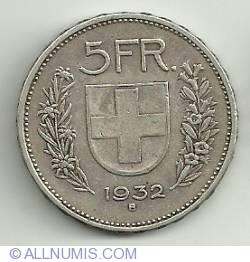 Image #2 of 5 Francs 1932