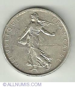 Image #1 of 5 Francs 1962