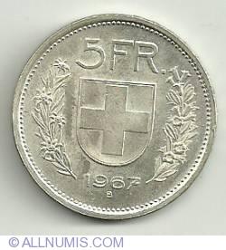 Image #2 of 5 Francs 1967