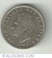 Image #1 of 5 Pesetas 1984