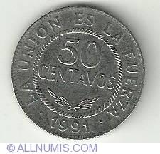 Image #2 of 50 Centavos 1991