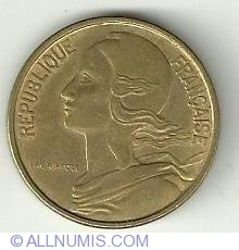 Image #1 of 50 Centimes 1963 - 4 folds in collar