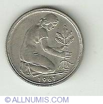 Image #2 of 50 Pfennig 1967 F