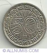 Image #1 of 50 Reichspfennig 1928 F