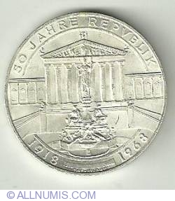 Image #1 of 50 Schilling 1968 Anniv. of the Republic