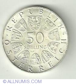 Image #2 of 50 Schilling 1968 Anniv. of the Republic