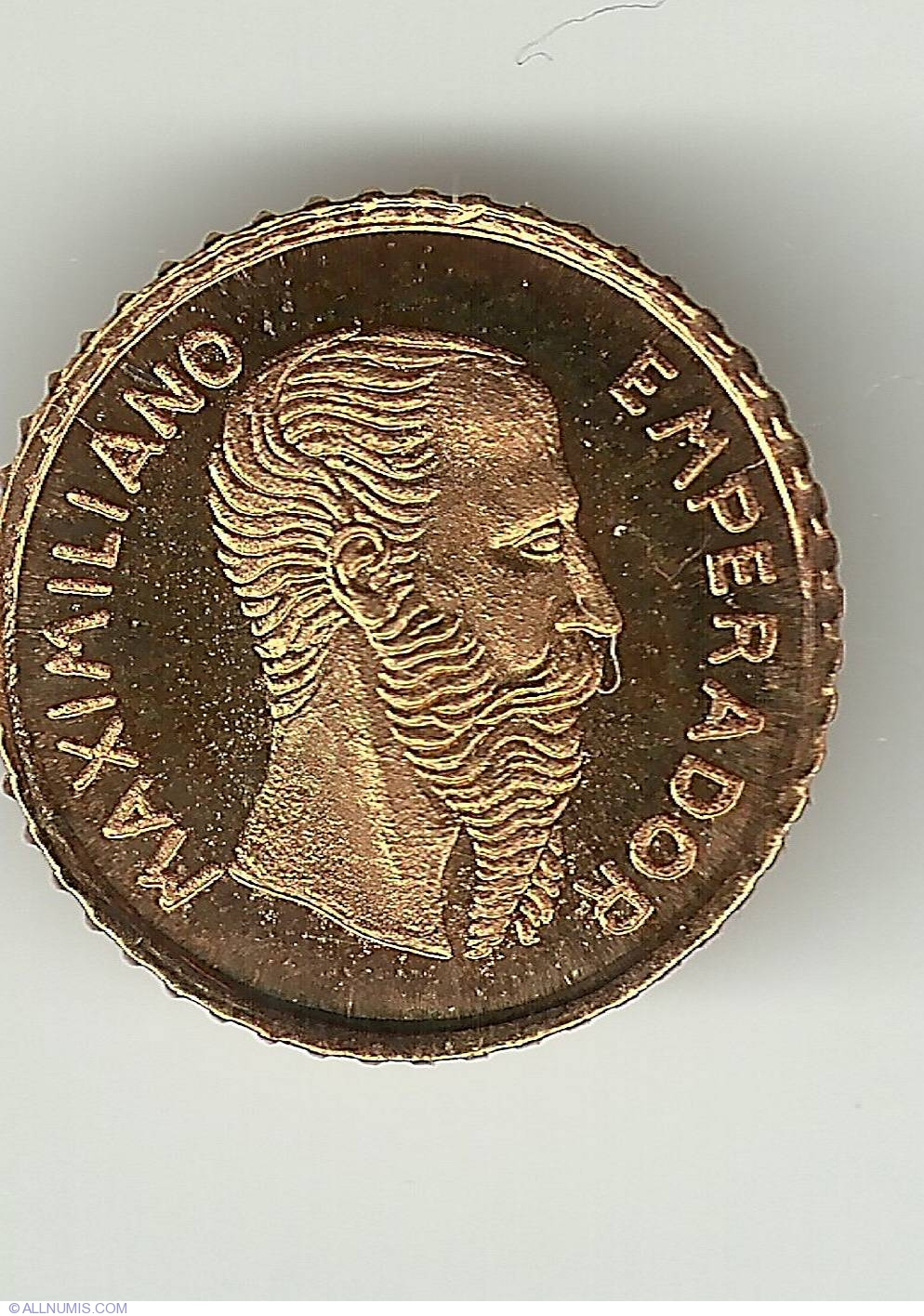 Emperador Maximiliano 1865, Mexico - Fantasy coins - Coin