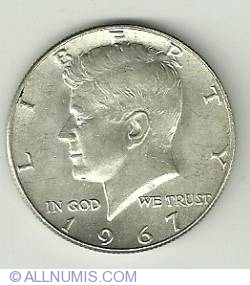 Image #1 of Half Dollar 1967