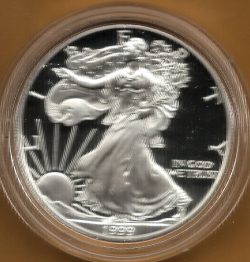 Image #1 of Silver Eagle 1999 P