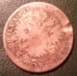 5 Kreuzer 1840 C