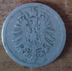 Image #2 of 5 Pfennig 1889 A