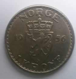 Image #1 of 1 Krone 1956