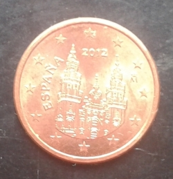 Image #2 of 5 Euro Cent 2012