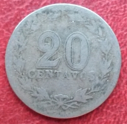 20 Centavos 1919