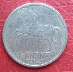 Image #1 of 1 Krone 1958