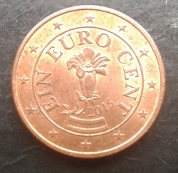 Image #2 of 1 Euro Cent 2015