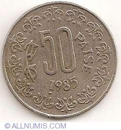 50 Paise 1985 (T)