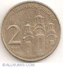 Imaginea #1 a 2 Dinari 2003
