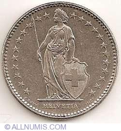 Image #2 of 2 Francs 1988