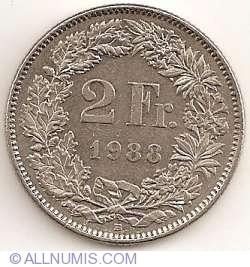 Image #1 of 2 Francs 1988