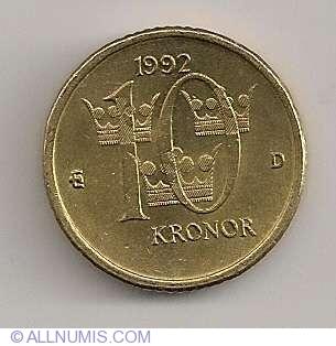 10 Kronor 1992