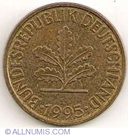 Image #2 of 10 Pfennig 1995 F