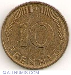 Image #1 of 10 Pfennig 1995 F